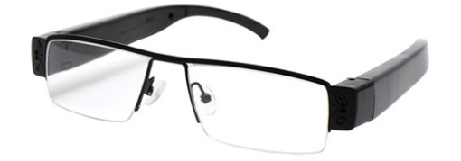 Mini Gadgets GLClear1080p Glasses with 1080p Covert Camera