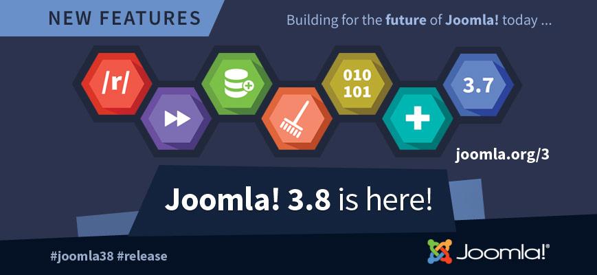 Joomla 3.8.0
