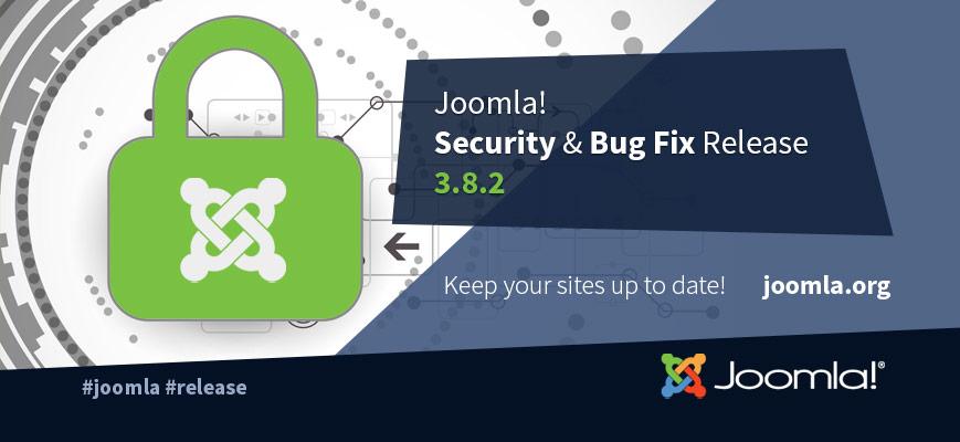 Joomla 3.8.2
